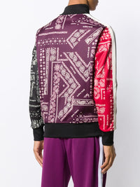 PALM ANGELS MEN BANDANA TRACK JACKET