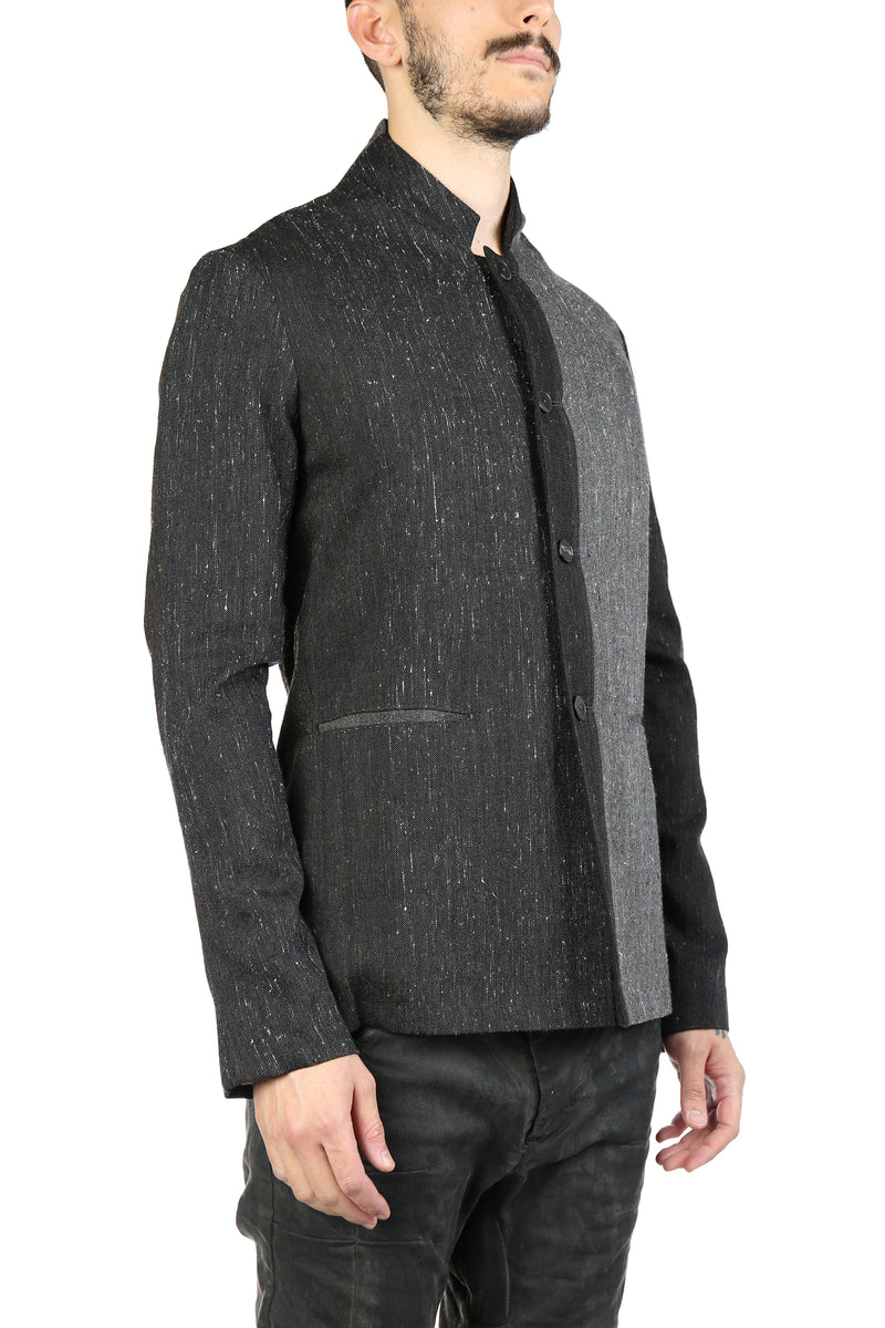 MA+ MEN 4 BUTTON FITTED JACKET