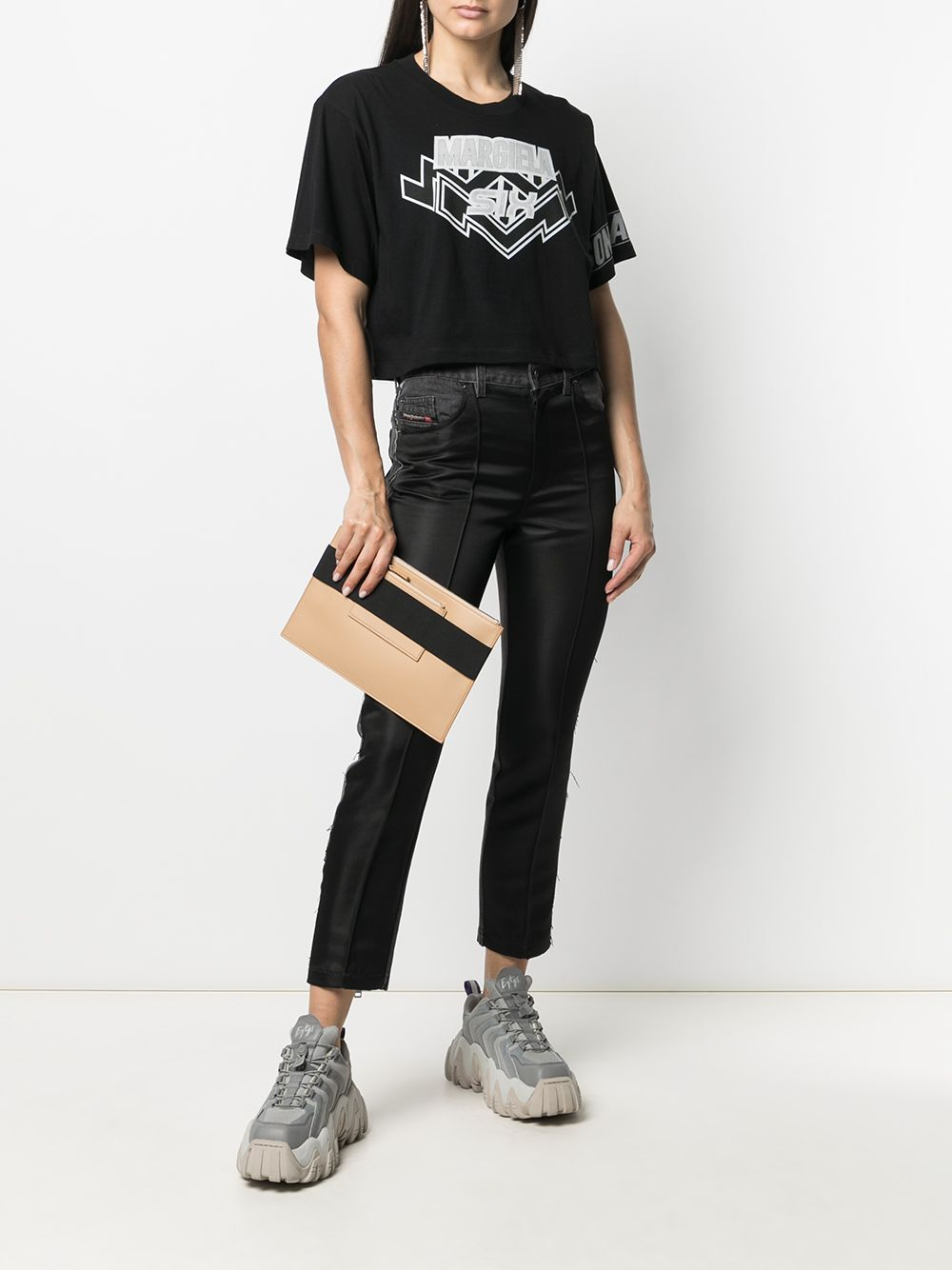 MM6 WOMEN MARGIELA SIX T-SHIRT