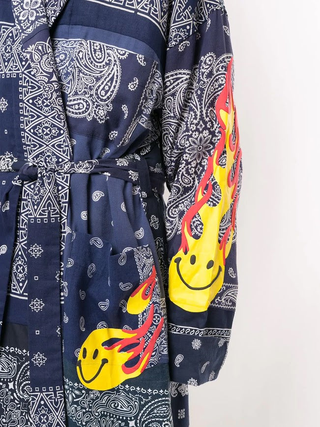 READYMADE BANDANA FIRE SMILE GOWN