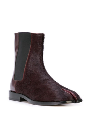 MAISON MARGIELA WOMEN FUR TABI CHELSEA BOOT