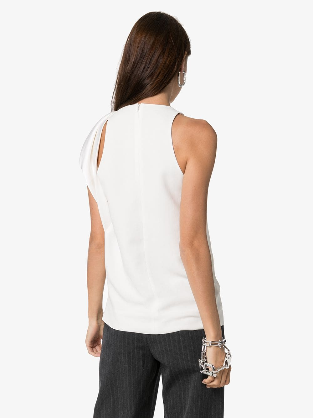 HAIDER ACKERMANN WOMEN DRAPE TOP