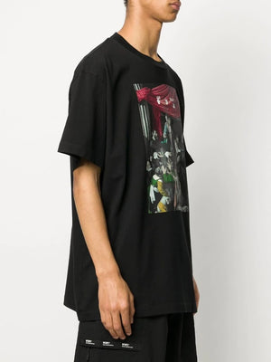 OFF-WHITE MEN CARAVAG PAINTING S/S OVER TEE