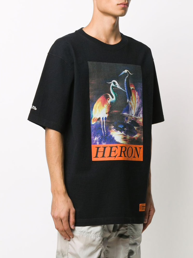 HERON PRESTON MEN SS T-SHIRT OS HERON TIMES
