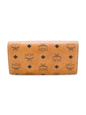 MCM LARGE PATRICIA VISETOS CHAIN WALLET