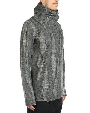 DEEPTI MEN REVERSIBLE HOODED T-SHIRT