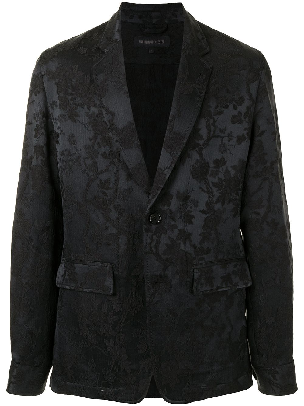 ANN DEMEULEMEESTER MEN EAST SHIRT JACKET
