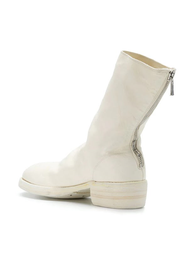 GUIDI 788Z MEN HORSE LEATHER BACK ZIP BOOT CO00T