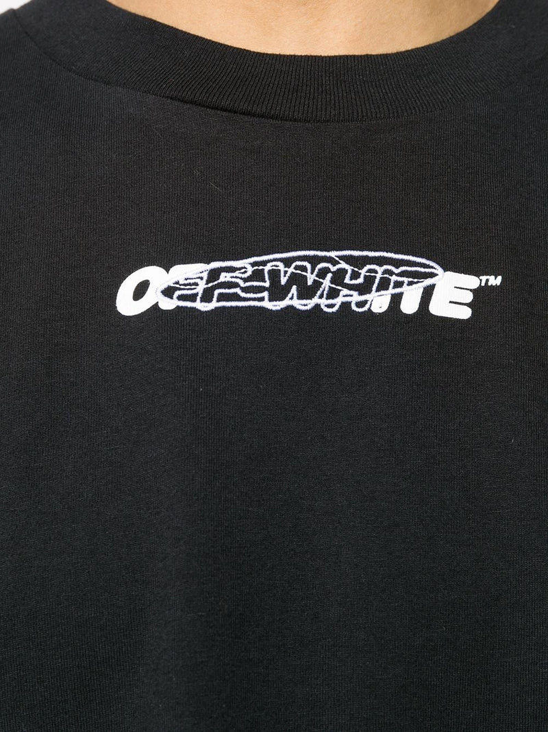 OFF-WHITE MEN HAND PAINTERS S/S OVER TEE