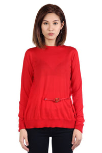 ALYX WOMEN BISSET SWEATER WITH BUCKLE
