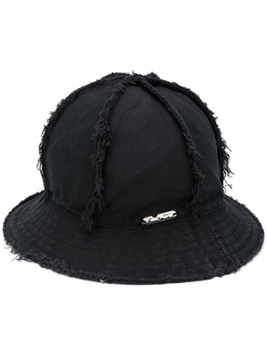 OFF-WHITE MEN PIVOT CANVAS BUCKET HAT