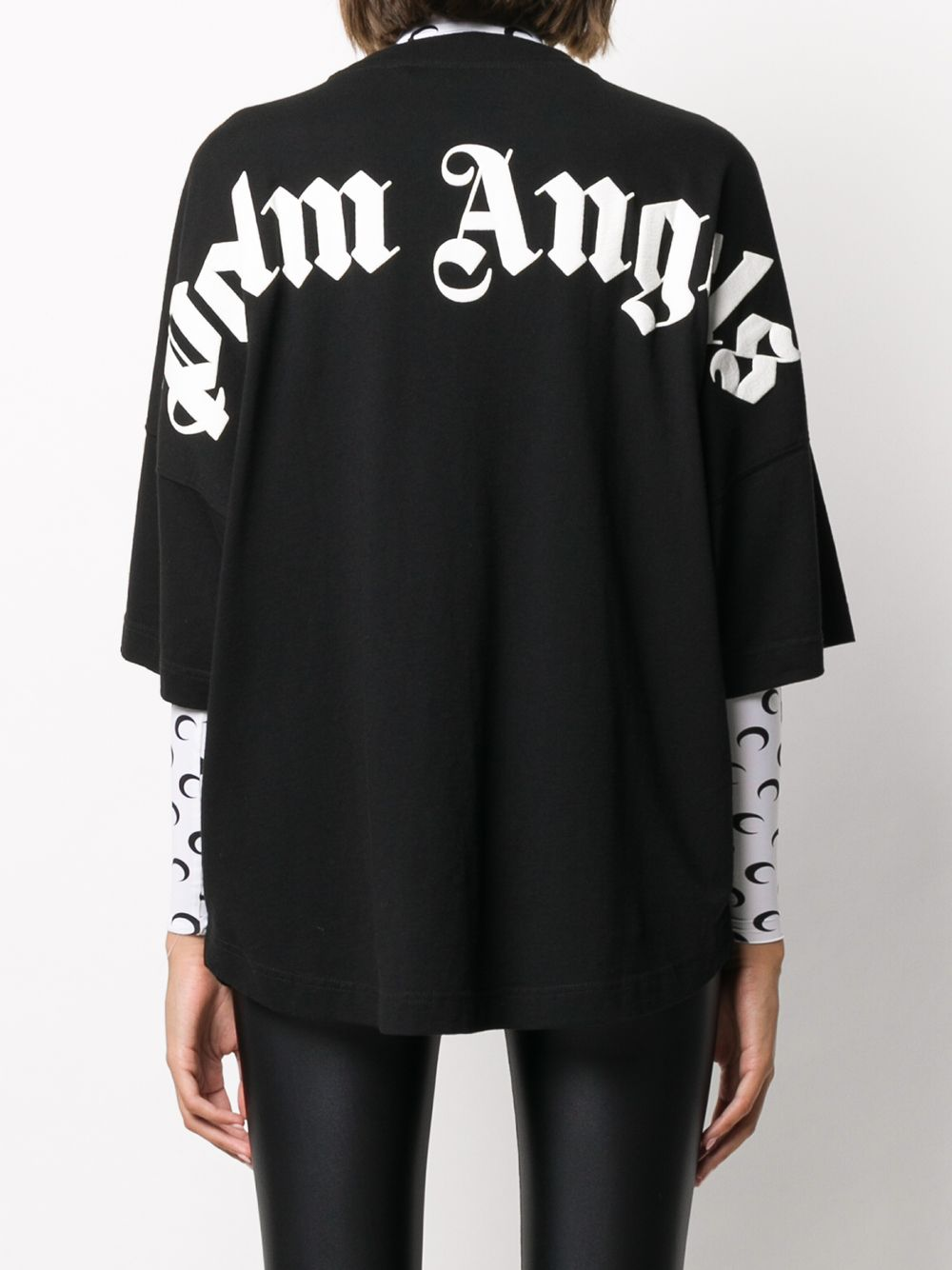 PALM ANGELS WOMEN CLASSIC LOGO OVER TEE
