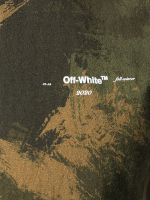 OFF-WHITE MEN PAINTBRUSH CAMOU S/S SLIM TEE