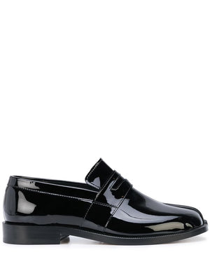 MAISON MARIGELA WOMEN PATENT LEATHER TABI LOAFER