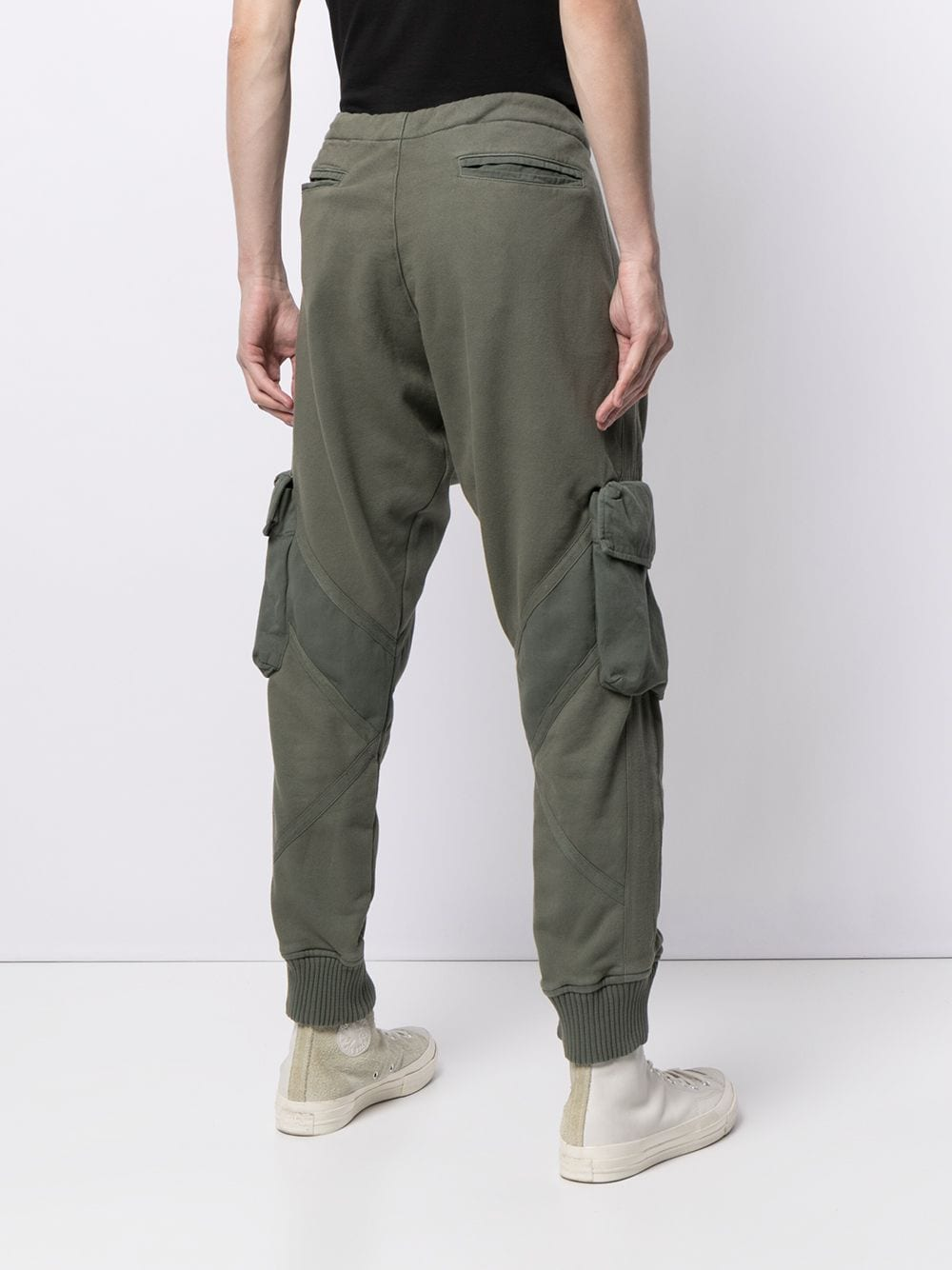 GREG LAUREN MEN UTILITY SWEATPANTS