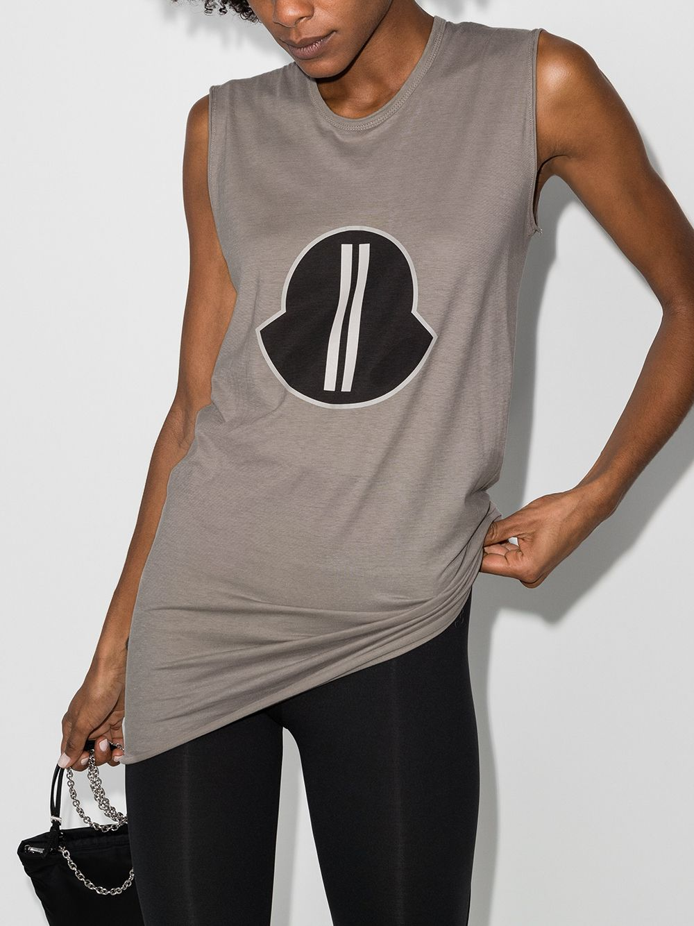 MONCLER + RICK OWENS UNISEX SLEEVELESS MUSCLE TEE
