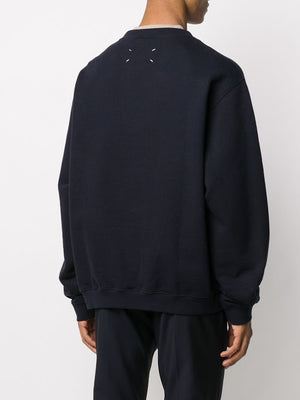 MAISON MARGIELA MEN NUMBER LOGO SWEATSHIRT