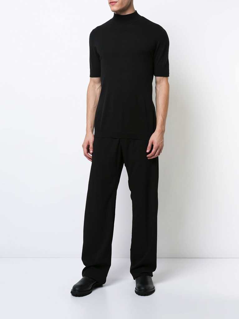 MA+ SMOOTH WOOL WIDE PANT SS13