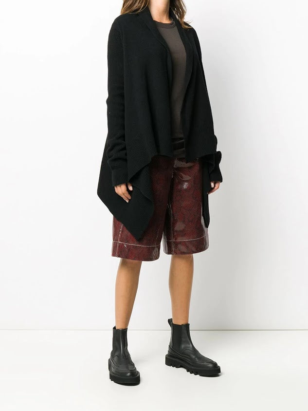RICK OWENS WOMEN RECYCLED CASHMERE MEDIUM WRAP