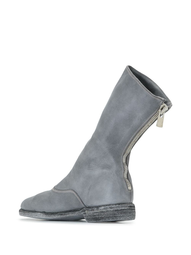 GUIDI WOMEN 311 BACK ZIP ARMY BOOTS