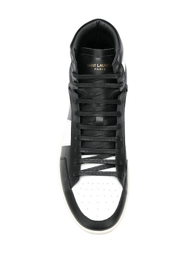 SAINT LAURENT MEN SL/10H HIGH TOP SNEAKER