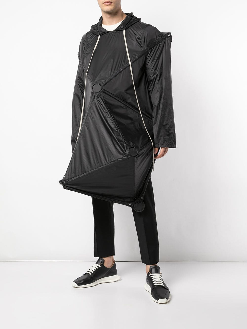RICK OWENS MEN RUNWAY ROD PARKA