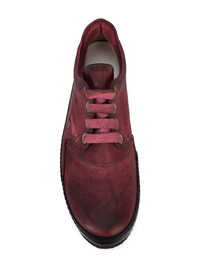 A1923 MEN KANGAROO LEATHER LOW TOP SNEAKER
