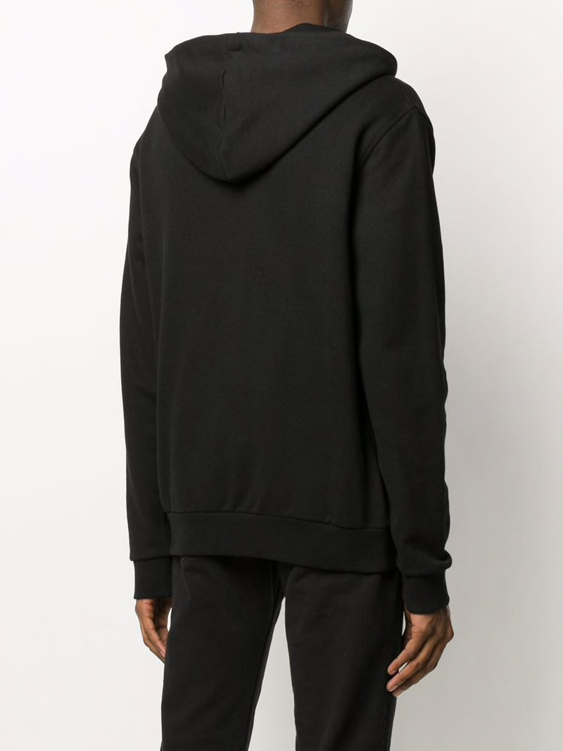 MAISON MARGIELA MEN ZIPPER DETAIL HOODIE