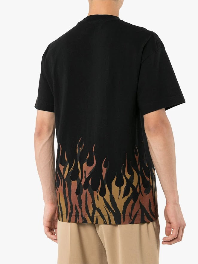 PALM ANGELS MEN TIGER FLAMES TEE