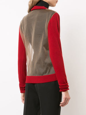 UMA WANG WOMEN LONG SLEEVE KNIT TOP