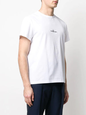 MAISON MARGIELA MEN UPSIDE DOWN LOGO T-SHIRT