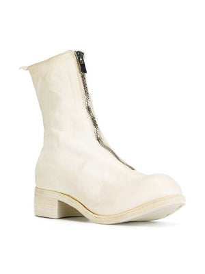 GUIDI MEN PL2 HORSE LEATHER FRONT ZIP BOOT