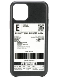 VETEMENTS DELIVERY STICKER IPHONE 11 PRO CASE