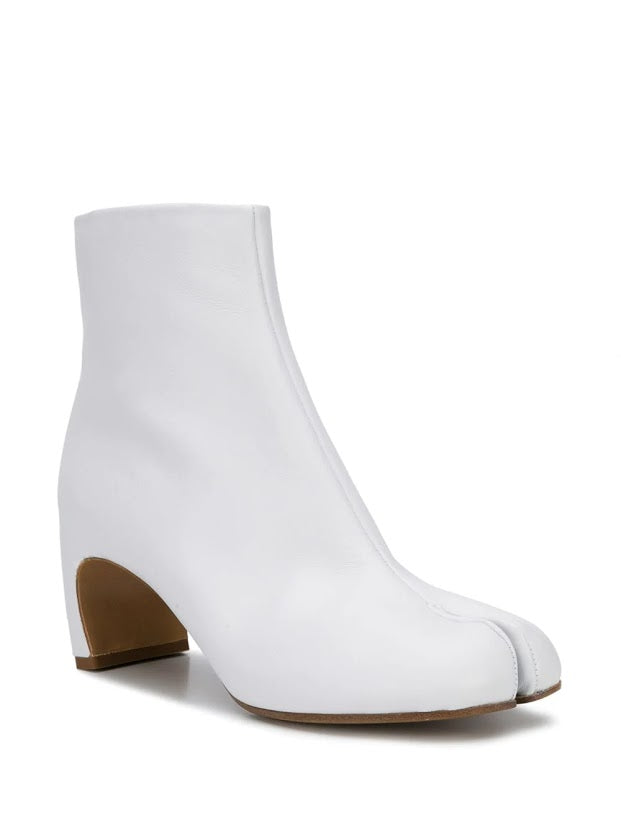 MAISON MARGIELA WOMEN NEW TABI ANKLE BOOTS