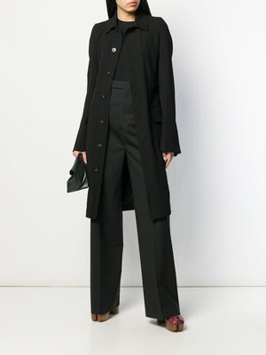 RICK OWENS WOMEN FORKED TRENCH