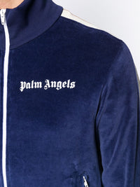 PALM ANGELS MEN CHENILLE TRACK JACKET