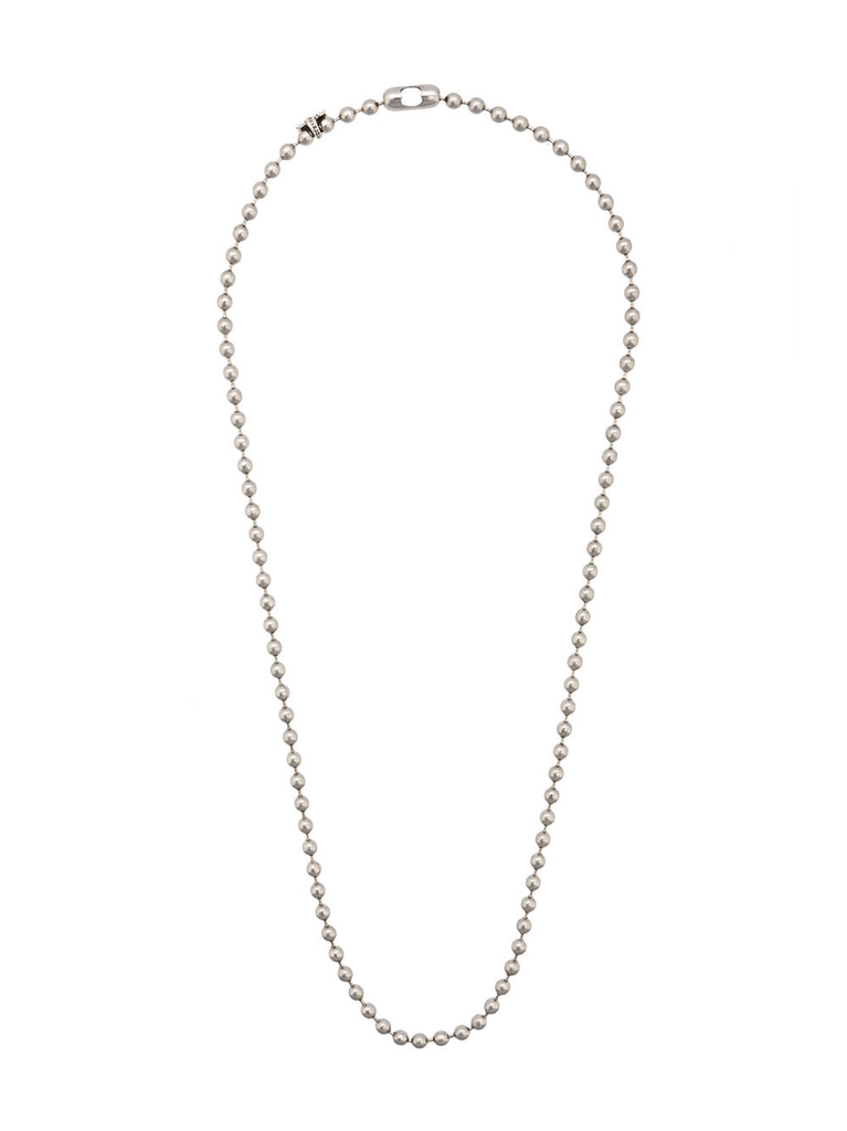 CODY SANDERSON STAINLESS STEEL BALL CHAIN 28 WITH C*S TAGS