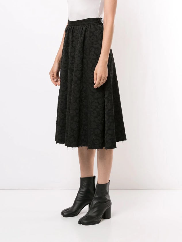 MM6 WOMEN JACQUARD SKIRT