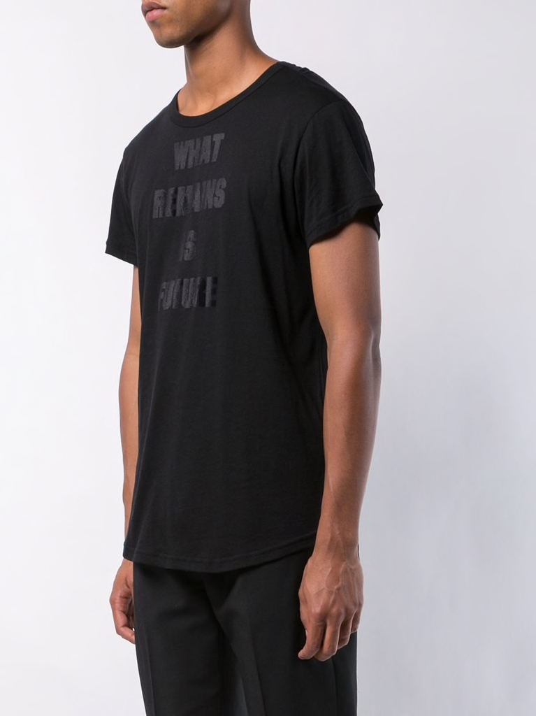 ANN DEMEULEMEESTER MEN PRINTED T-SHIRT