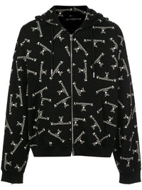 MASTERMIND WORLD LOGO ZIP UP HOODIE