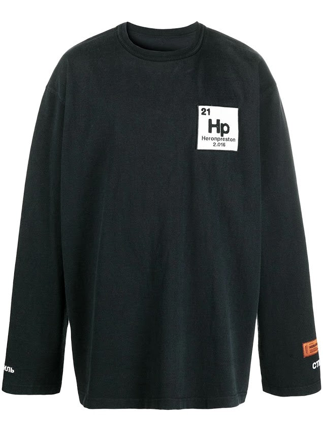 HERON PRESTON MEN LS T-SHIRT ES OS HERONS HALO