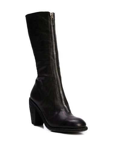 GUIDI WOMEN 3009FZ SOFT HORSE FG FRONT ZIP HIGH HEEL