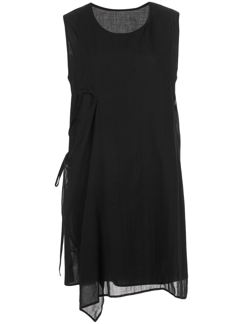 Y'S WOMEN LAYERED SLEEVELESS TOP