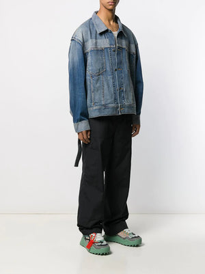 AMBUSH UNISEX REFLECTOR DENIM JACKET