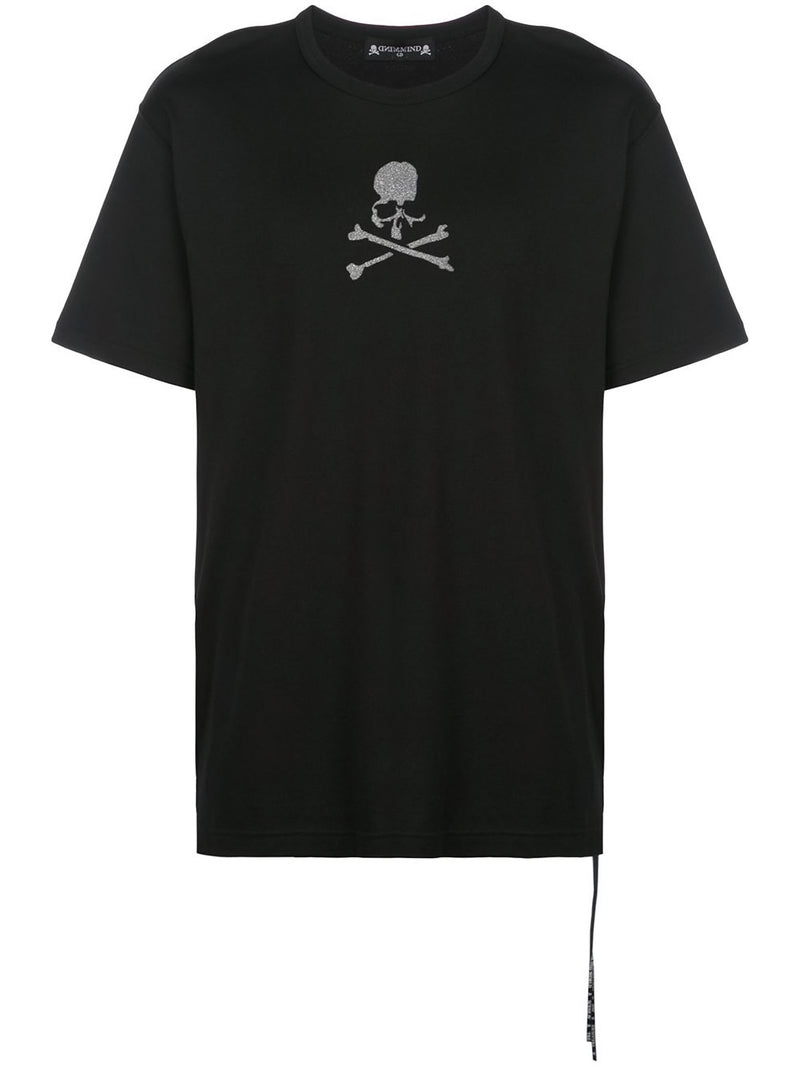 MASTERMIND WORLD MEN GLITTER SKULL LOGO T-SHIRT