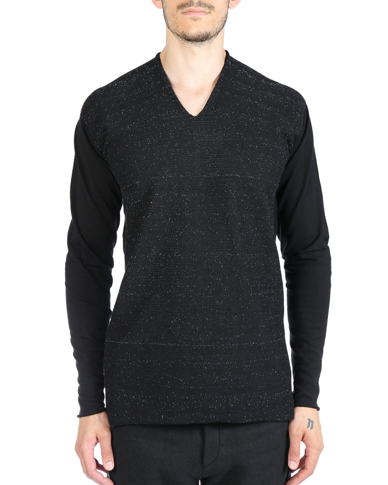 LABEL UNDER CONSTRUCTION MEN DIGITAL KNIT #3 SWEATER