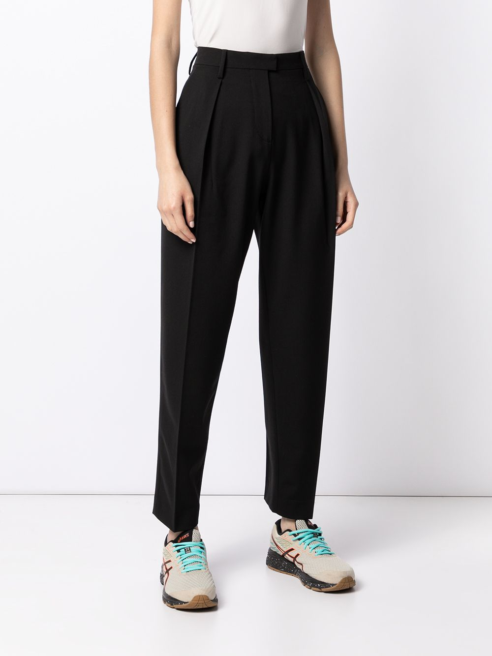 OFF-WHITE WOMEN FORMAL STRAIGHT LEG PANTS