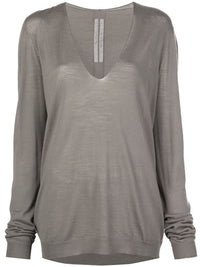 RICK OWENS WOMEN SOFT V NECK