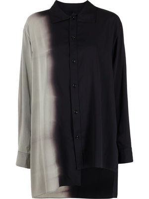 Y'S WOMEN ASYMETRICAL SHIRT