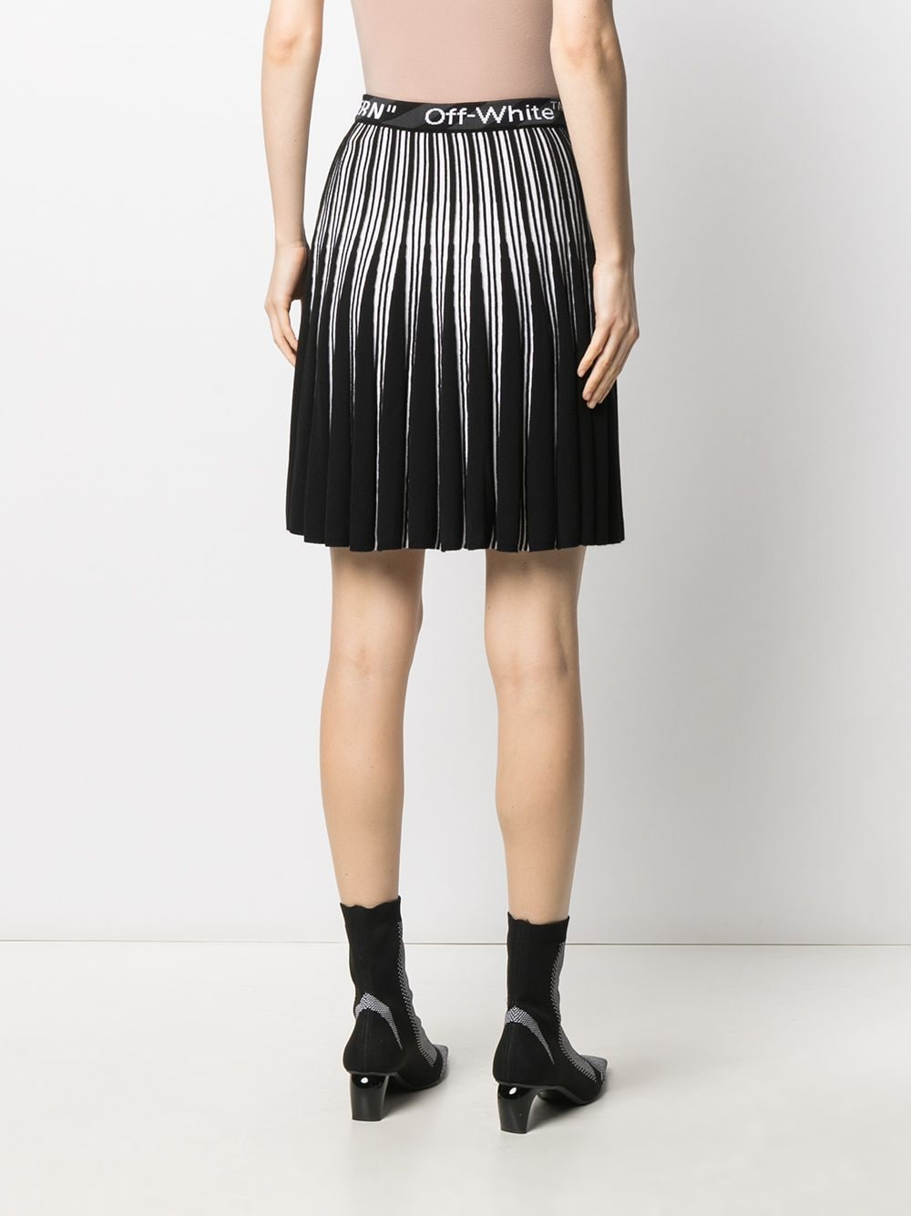 OFF-WHITE WOMEN BOLD MINI SKIRT
